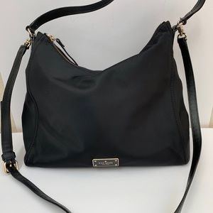 Kate Spade Nylon Hobo with Crossbody Strap